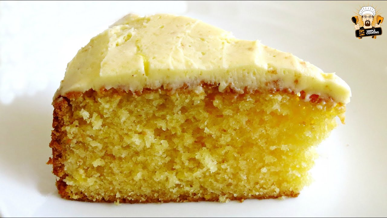 HOW TO MAKE A LEMON CAKE - YouTube