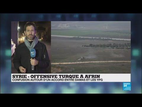 """Offensive turque à Afrin : """"il y a des négociations secrètes"""" entre Damas et les YPG"""