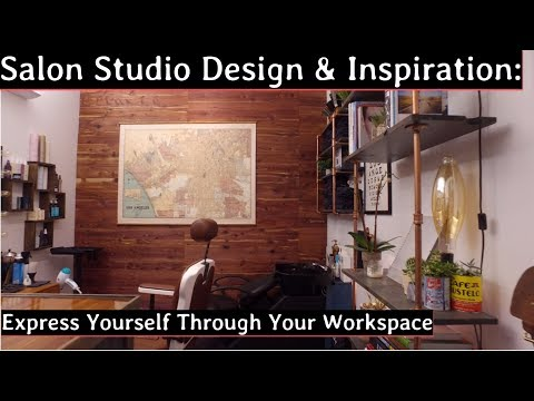 Salon Studio Design & Inspiration: Express Yourself Through Your Workspace