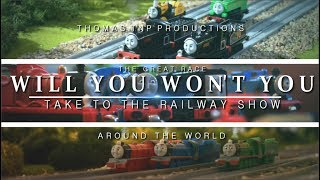 🌎 Will You Won't You: Around the World | Thomas & Friend Song🎶 | [12 Languages] REMAKE