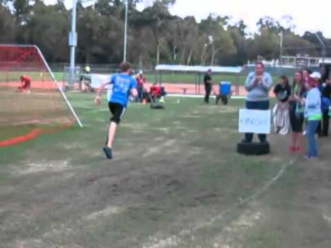 Aerospace Games 2013 Relay Race Slow-Mo Highlights