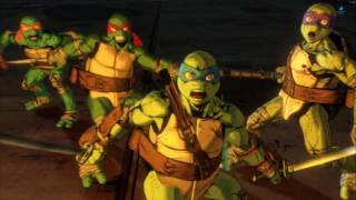 Teenage Mutant Ninja Turtles Mutants in Manhattan: All cutscenes +Secret Bosses(PS4/1080p)