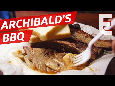 Open Fire BBQ At Archibald's In Alabama — SFA