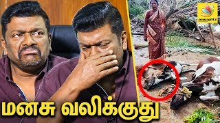R Parthiban Emotional Interview | Gaja Cyclone