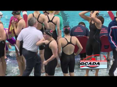 OHSAA Women's District Swimming Final: Division 1 - February 18, 2017