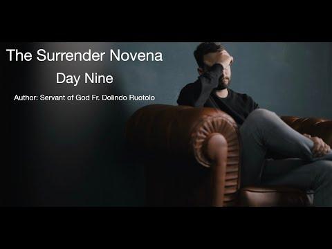 Day 9 Surrender Novena