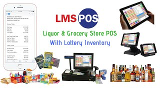 Visit: www.lmspos.com for pricing & more details lms pos is liquor store system and grocery with full inventory control automated lottery i...