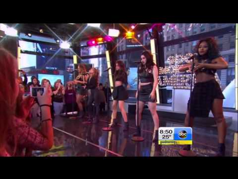 Fifth Harmony - Sledgehammer (Live @ Good Morning America 12/11/2014)