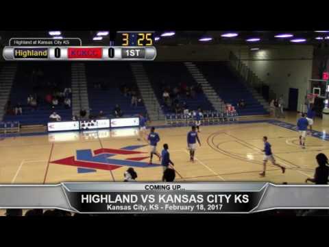 Highland Men's Basketball at Kansas City Kansas CC