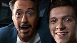 Tony Stark & Peter Parker - Car Scene - Spider-Man: Homecoming (2017) Movie CLIP HD