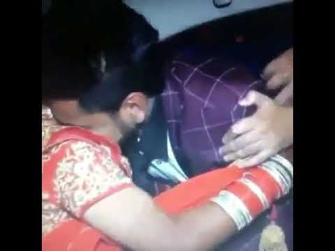 Love in car indian couple