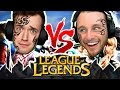 ONE VS ONE LEAGUE OF LEGENDS | AP TRYNDAMERE | TATTOO CHALLENGE