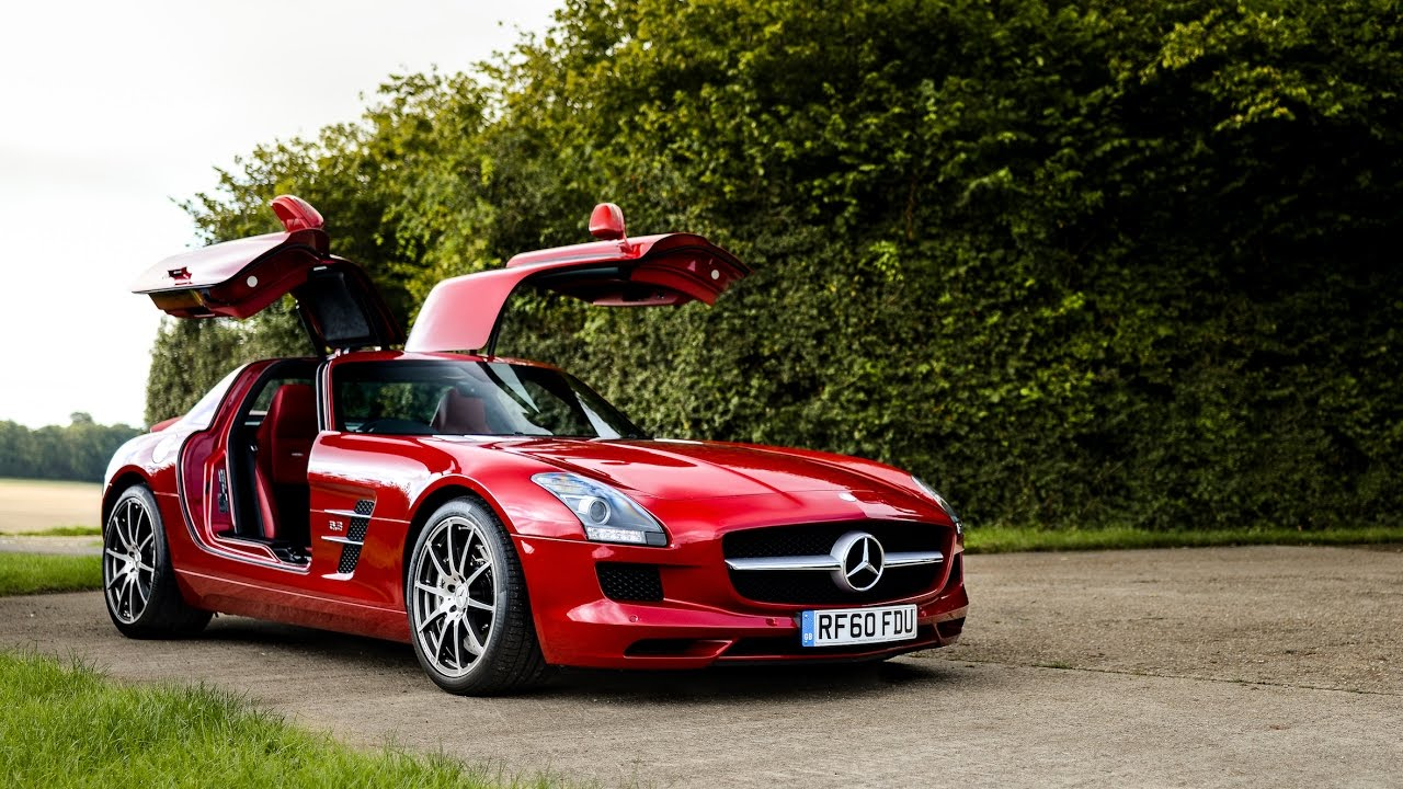 NEW CAR: The Mercedes-Benz SLS AMG!! - YouTube