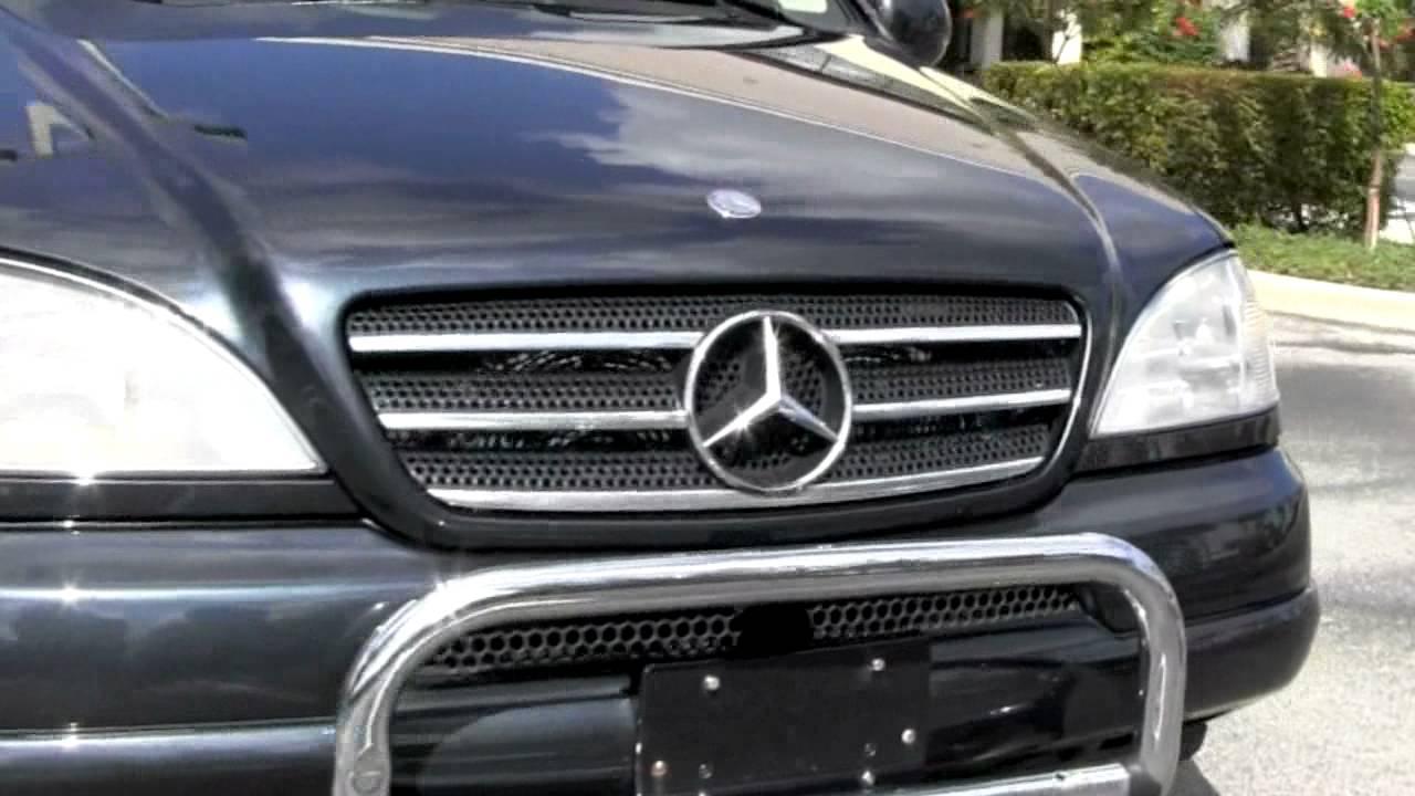 2000 Mercedes-Benz ML320 Black Opal Metallic T2736B - YouTube