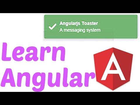 #5 Angular & Javascript Series-Angular Dependancies and Angular Toaster