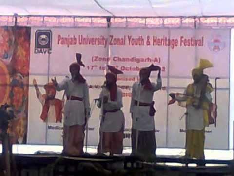 Youth festival 2012 kali by Garja singh