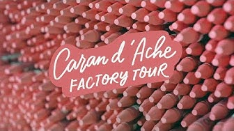 Visiting the Caran d'Ache Factory 🇨🇭| Abbey Sy