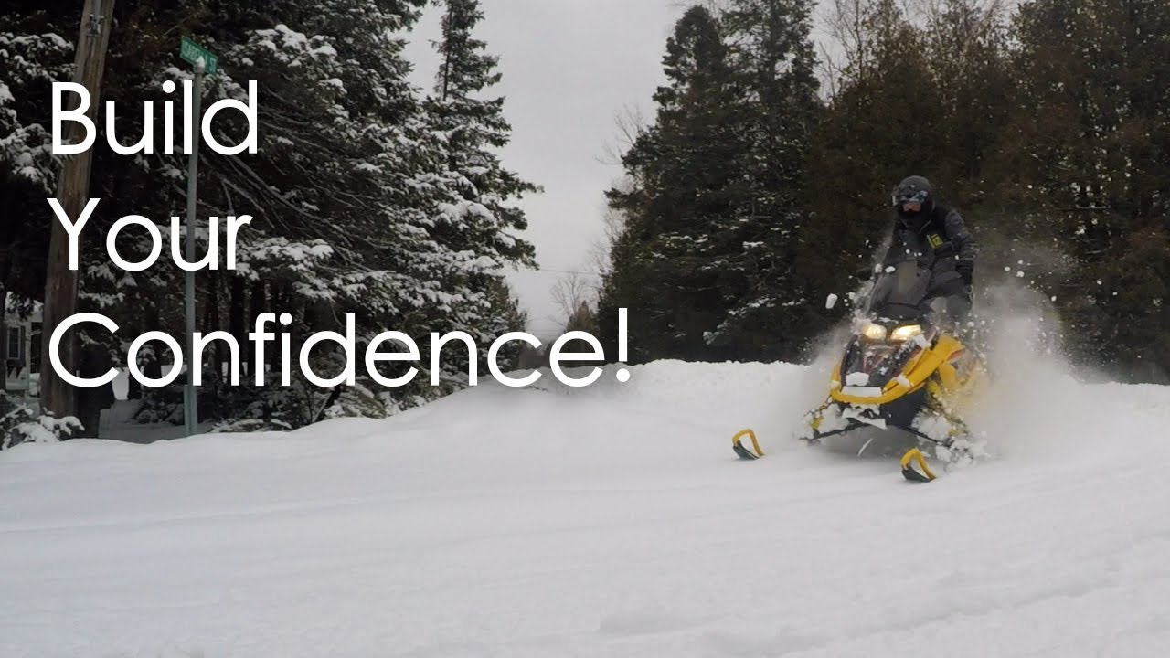 Building Confidence with your Snowmobile - 10 Tips (We're riding!)