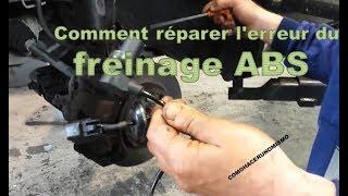 Comment réparer l'erreur du freinage ABS dans un Chevrolet Aveo