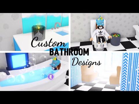 8 Custom Bathroom Design Ideas Building Hacks Roblox Adopt Me Its Sugarcoffee Youtube,Popular Designer Purse Brands