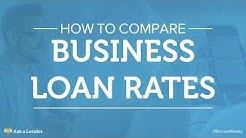 How to Compare Business Loan Rates | Ask a Lender