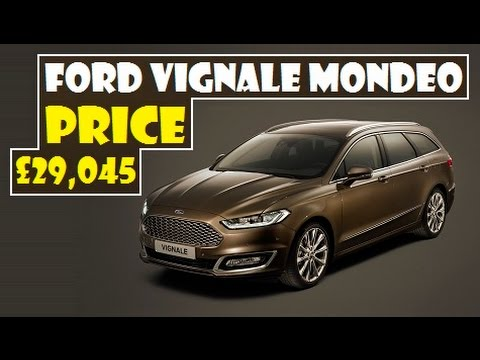 Ford Vignale Mondeo, available to pre-order from May, prices start from £29,045
