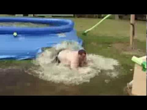Preston Lacy pool jump