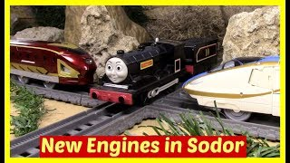 Thomas and Friends Accidents will Happen | New Engines in Sodor | Toy Trains Thomas the Tank Engine