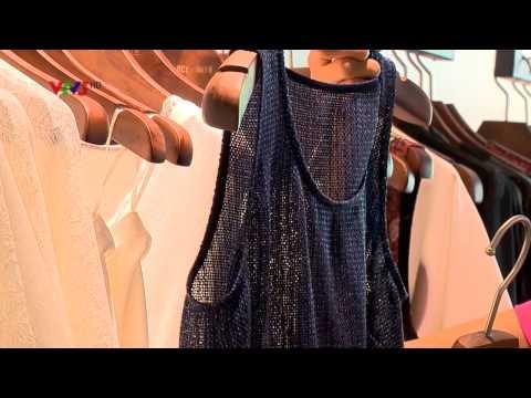 Thời trang và cuộc sống VTV3 26072014 Gương mặt thời trang Người mẫu Hoàng Thùy