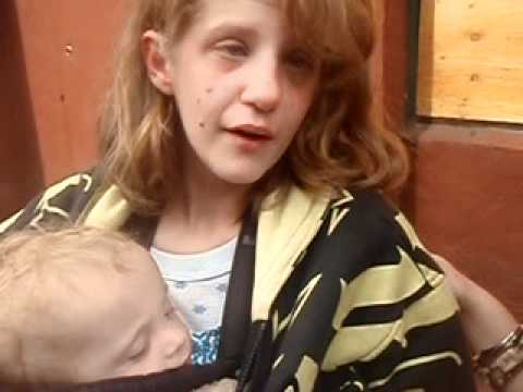 Homeless Mother & Baby in Portland, Oregon