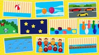 Мультики для малышей. Учим цифры и счет до 10 Учимся считать до 10 Развивающие мультфильмы для детей