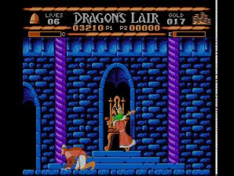 NES Longplay [440] Dragon's Lair