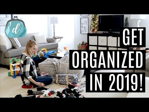 FOUR POWER TIPS TO GET ORGANIZED IN 2019!