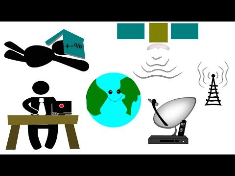 how satellite tv works youtube. Black Bedroom Furniture Sets. Home Design Ideas