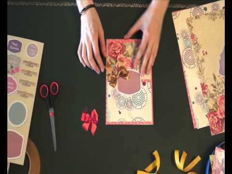 видео: Мастер-класс Открытка своими руками 3