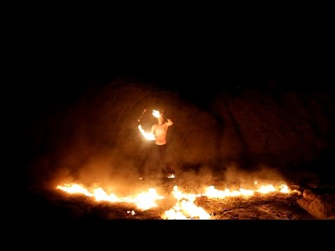 Igor Fire Flow Art - Perhentian Islands