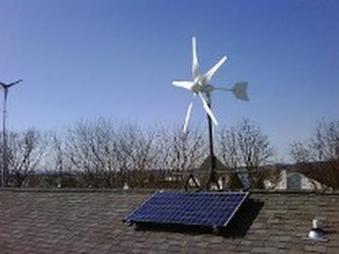 Home Wind Turbine Mounting Systems Pa Youtube