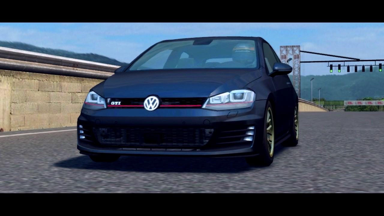 lfs - volkswagen golf mk7 - youtube