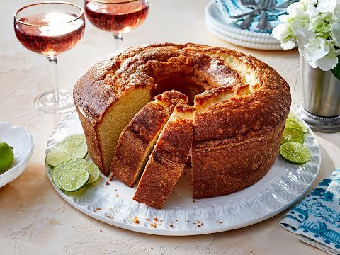 Key Lime Pound Cake | Southern Living