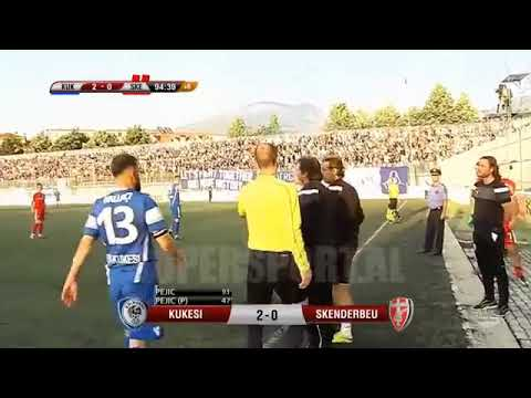 Download Ndeshja qe do mbahet mend gjatë, Hamdi Salihi do mbetet heroi kesaj ndeshje kukesi 2 : 0 Skenderbeu.