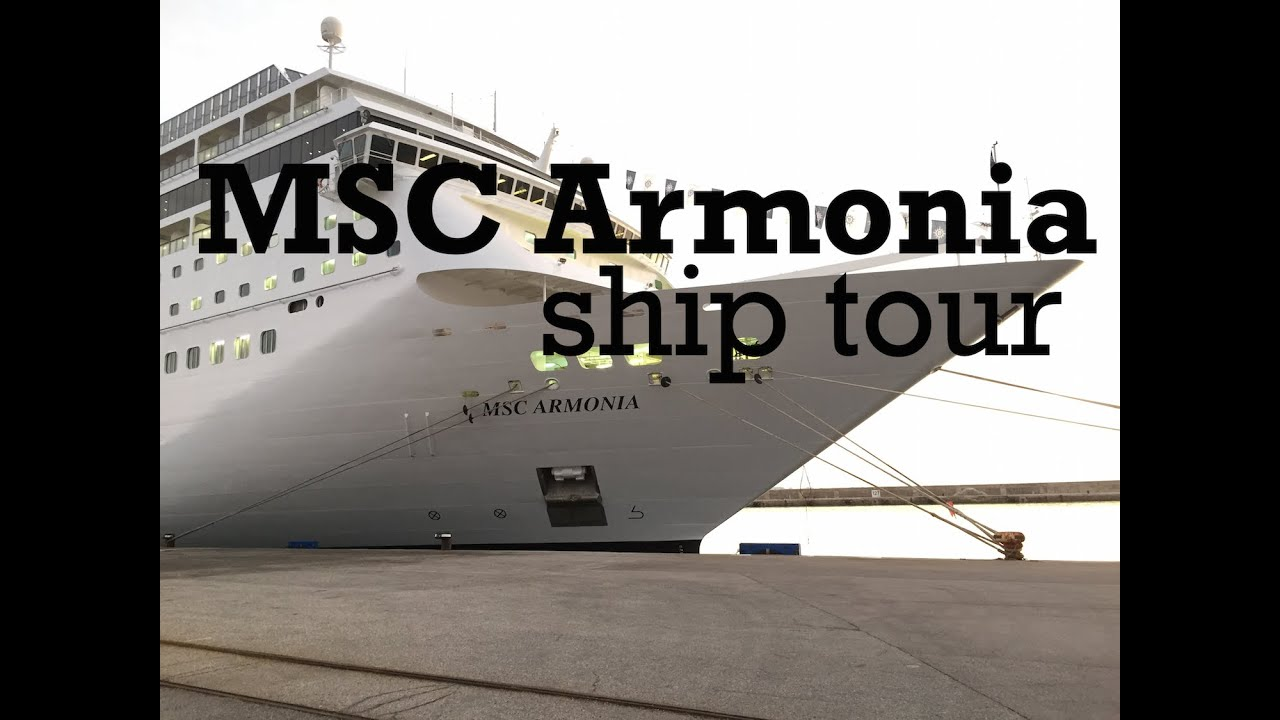 Msc Armonia Cruise Ship Tour Post 2014 Revamp Youtube