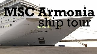 My video tour of MSC Cruises MSC Armonia after the 2014 revamp, whe...