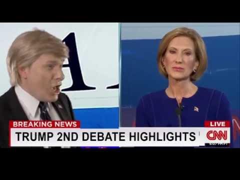 Donald Trump 2nd Debate Highlights - YouTube