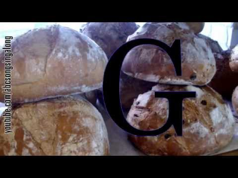 Appetitizing ABC song: learn alphabet & get appetitized by No-knead Bread from jerusalem!