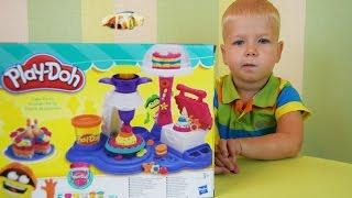 Gambar cover Готовим Вместе из Плей До. Видео для детей. Лепим торт из пластилина Play Doh #Игрушки