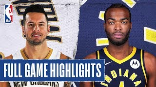 PELICANS at PACERS   FULL GAME HIGHLIGHTS   February 8, 2020