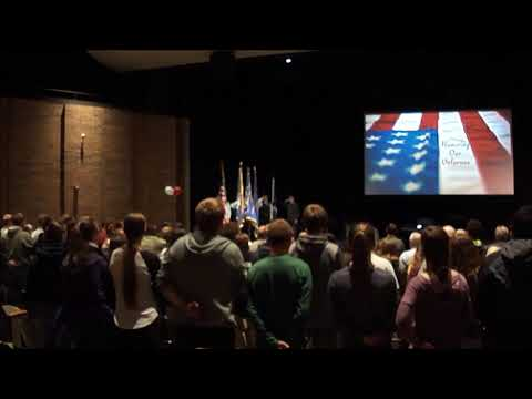 Grayling High School 2017 Veterans Day Assembly