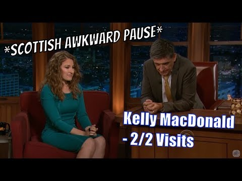 Kelly Macdonald - Shes Scottish = Great Conversation - 2/2 Visits In Chronological Order