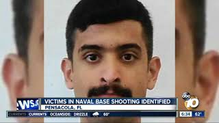Victims in Naval Air Station Pensacola identified