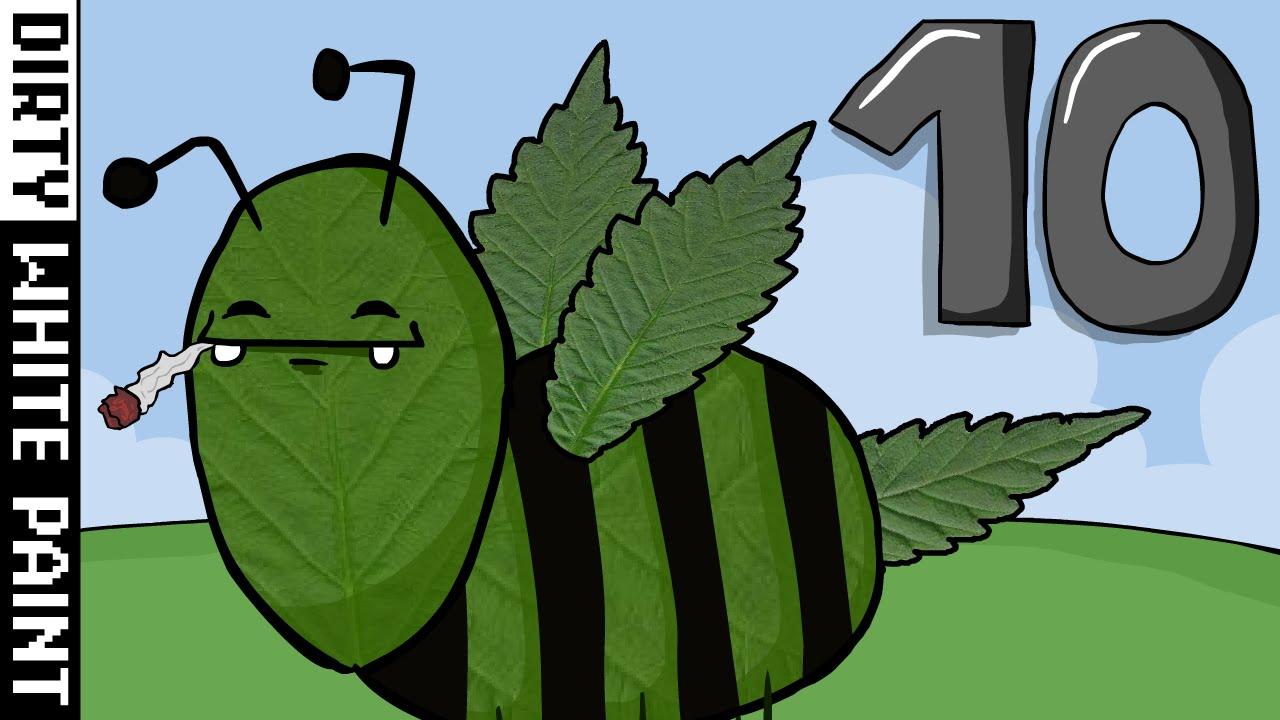 Ich bin eine Biene! 10 - Ich bin eine Cannabiene! - YouTube